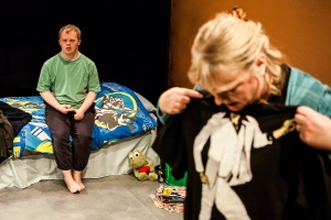 ©Richard Davenport 2012. Salisbury, UK. Salisbury Playhouse Studio. Up Down Boy