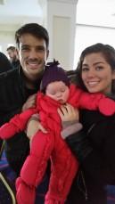 Baby Eva raises money for the DSA Eva & Cast1