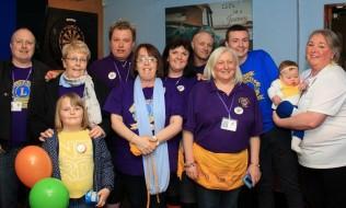Baby Eva raises money for the DSA lAccrington Lions & helpers