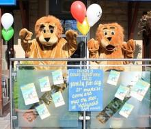 Baby Eva raises money for the DSA lions