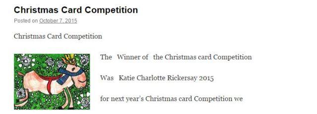 Kate's Blog Christmas cards